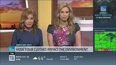 Stephanie Abrams and Jen Carfagno (23) (babetv) Tags: stephanie abrams jen carfagno weather channel women legs hot sexy