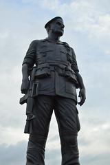 General Henry Hugh Shelton (radargeek) Tags: northcarolina fayetteville nc 2018 august statue art generalhenryhughshelton