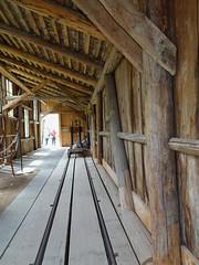 Seilerei im Ballenberg (Priska B.) Tags: s seilerei ballenberg freilichtmuseum schweiz switzerland swiss svizzera brienzwiler brünig frühling ostern schiene holz holzhaus