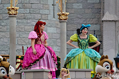 Let the Magic Begin (disneylori) Tags: letthemagicbegin welcomeshow disneycharacters characters magickingdom waltdisneyworld disneyworld wdw disney anastasiatremaine drizellatremaine cinderella