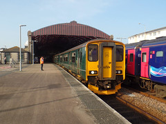 150244 & 150234 Penzance (Marky7890) Tags: gwr 150244 class150 sprinter 2a07 penzance railway cornwall cornishmainline train