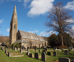 2019_03_0375 (petermit2) Tags: stjohnthebaptistchurch saintjohnthebaptistchurch stjohnschurch saintjohnschurch stjohn saintjohn stjohnthebaptist saintjohnthebaptist churchofengland church gothicrevival williambutterfield bamford peakdistrict derbyshire