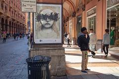 Copriamoci gli occhi (tullio dainese) Tags: 2019 bologna artedistrada graffiti muri muro outdoor strada strade street streetart streets wall walls cheaponboard