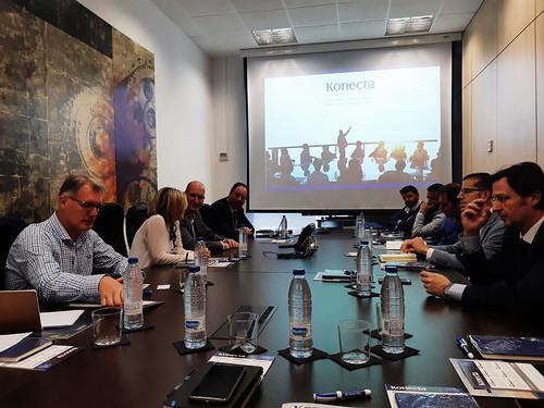Proyecto +Redes encuentro Startups Konecta