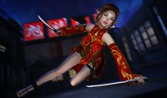 Chinese Elf Worrior (kyoka jun) Tags: ay elfworrior chinese dress backdrop fantasyfaire2019 jpk kowloonwalledcity gacha kawaii cute china secondlife sl secondlifefashion secondlifeblog sexy