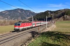 """1144 222 """"ÖBB"""" Niklasdorf (Matthias Greinwald) Tags: öbb österreichische bundesbahn bahn personenzug zug 1144 nikalsdorf"""