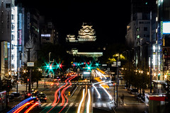 Himeji by Night (jdemarq) Tags: himeji japan night castle city 姫路 姫路城 日本 hyogo 兵庫県
