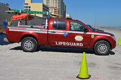 Volusia County Lifeguard (Martijn Groen) Tags: daytona daytonabeach florida volusiacounty unitedstates usa november 2017 lawenforcement emergency lifeguard oceanrescue nissan nissanfrontier emt