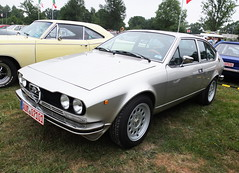 Alfa Romeo Alfetta GTV 1976-80 (Zappadong) Tags: alfa romeo alfetta gtv 197680 bockhorn 2018 zappadong oldtimer youngtimer auto automobile automobil car coche voiture classic classics oldie oldtimertreffen carshow