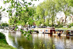 Woonboten Conradkade Den haag ( boathouses ) (carlo pronk) Tags: urbannature urban holland boathouses denhaag woonboot