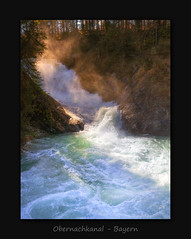 Obernachkanal Waterfall (MC--80) Tags: obernachkanal waterfall bayern