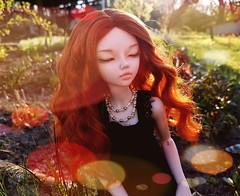 (claudine6677) Tags: bjd msd ball jointed doll asian dolls minifee mnf chloe fairyland evening sun