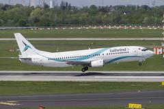 TC-TLA Boeing 737-4Q8 (Disktoaster) Tags: dus düsseldorf airport flugzeug aircraft palnespotting aviation plane spotting spotter airplane pentaxk1