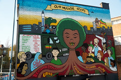 Our Musical Roots (tim ellis) Tags: mural roots music jamaica graffiti cityofcolours birmingham uk