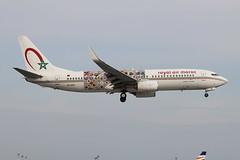 Boeing 737-86N(WL) Royal Air Maroc (Wings of African Art Livery) CN-RGF (herpeux_nicolas) Tags: الخطوطالملكيةالمغربية boeing boeing73786nwl royalairmaroc ram wingsofafricanartlivery cnrgf boeing73786n boeing737 b737 b737800 b73786n nextgen boeing737nextgen msn36826 cn36826 ln3773 cfmicfm567b26 cfmi cfm567b26 cfminternational at landing attérissage nte lfrs nantesatlantique bouguenais winglets winglet