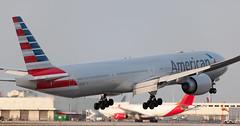B777 | N733AR | MIA | 20160403 (Wally.H) Tags: boeing 777 boeing777 b777 n733ar americanairlines mia kmia miami airport