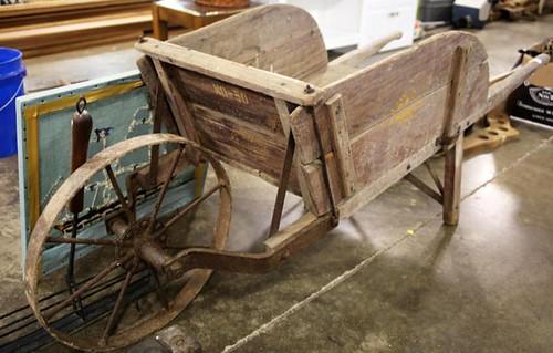 Primitive Wheelbarrow ($224.00)