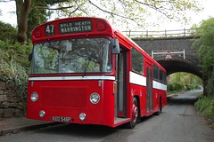 Ready for delivery. (Renown) Tags: bus singledecker leyland panthercub leyland400 eastlancs warrington corporation ked546f rbw reliancebusworks preserved preservation heritage restored