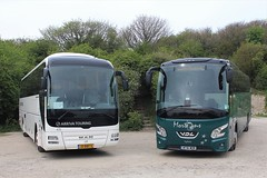 Arriva Touring (and me) (peagreenbus) Tags: 33bbp5 mt16mor vdlfutura2 arrivanetherlands manlionscity mortonstravel