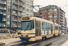 STIB-T55-3212-7927-04-12-1993 (phi5104) Tags: trams belgië belgique brussel bruxelles mivb stib ligne55