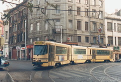 STIB-T55-3183-7919-29-11-1993 (phi5104) Tags: trams belgië belgique brussel bruxelles mivb stib ligne55