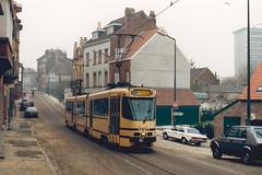 STIB-T55-3177-7914-27-11-1993 (phi5104) Tags: trams belgië belgique brussel bruxelles mivb stib ligne55