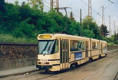 STIB-T55-2661-7909-29-05-1992 (phi5104) Tags: trams belgië belgique brussel bruxelles mivb stib ligne55