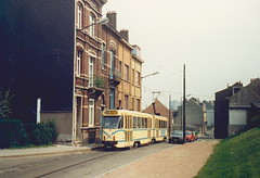 STIB-T55-1392-7755-28-04-1988 (phi5104) Tags: trams belgië belgique brussel bruxelles mivb stib ligne55