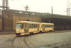 STIB-T55-0291-7724-14-12-1985 (phi5104) Tags: trams belgië belgique brussel bruxelles mivb stib ligne55
