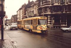 STIB-T55-0282-7756-20-03-1986 (phi5104) Tags: trams belgië belgique brussel bruxelles mivb stib ligne55