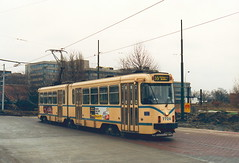 STIB-T55-3219-7724-04-12-1993 (phi5104) Tags: trams belgië belgique brussel bruxelles mivb stib ligne55