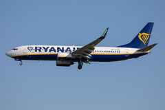 EI-DAC // Ryanair // B737-8AS // Stansted (SimonNicholls27) Tags: stansted stn egss aircraft aviation plane aeroplane ryanair fr ryr 7378as eidac 737