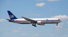 Boeing 767-300 (N319CM) Ameri Jet (Mountvic Holsteins) Tags: boeing 767300 n319cm ameri jet mia miami international airport florida