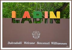 Labin (Super Mario Bros1) Tags: cartellone labin albona istria croazia benvenuti willkommen welcome dobrodosli