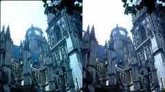 Batch E 0152 (dizzygum) Tags: vintage stereo 3d slide image france 1960 chateau orleans