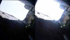 Batch E 0135 (dizzygum) Tags: vintage stereo 3d slide image france 1960 keep loches castle