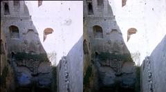 Batch E 0134 (dizzygum) Tags: vintage stereo 3d slide image france 1960 keep loches castle