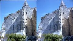 Batch E 0133 (dizzygum) Tags: vintage stereo 3d slide image france 1960 loches castle