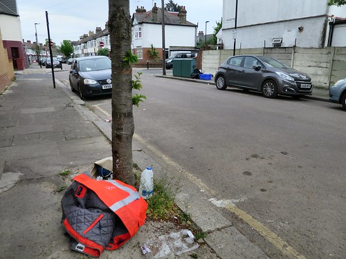 On the north side of Mafeking Road, N17.