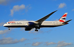 British Airways 787-9 Dreamliner (Infinity & Beyond Photography: Kev Cook) Tags: british airways boeing 787 7879 dreamliner b787 aircraft airplane airliner london heathrow airport lhr myrtle avenue ave photos planes gzbkd