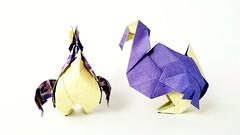 Dodo【origami】 (Kanoko9) Tags: origami dodo animal bird paper