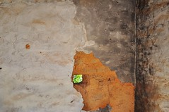 a very small hole (holly hop) Tags: doorway abandoned abstract decay mudbrick old wall wallwenesday walls hole 100x