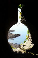 Through the keyhole ? (phileveratt) Tags: polruan polruanblockhouse fowey riverfowey cornwall canon eos77d efs18135 windowwednesdays windowwednesday happywindowwednesday hww