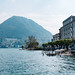 Looking across Lake Lugano