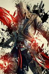 Assassin's Creed (Paramount_Gamer) Tags: game youtube assassin anime buetiful action heroes power red cree assassins man villan super