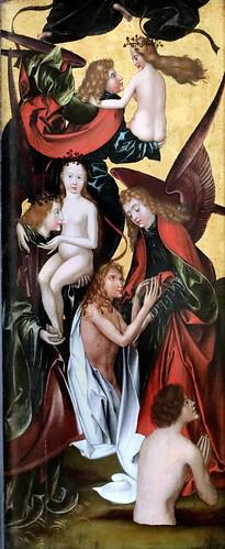 IMG_4003UN Hans Fries  1465-1520 Suisse  Das Jüngste Gericht  Le Jugement dernier The Last Judgement Munich Alte Pinakothek
