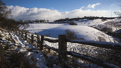 Newtimber (snomanda) Tags: downs southdowns newtimber hill hillside fence landscape snow winter