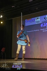 ComicdomCon Athens 2019 Cosplay Contest: Link from Breath of the Wild (SpirosK photography) Tags: comicdomcon comicdomcon2019 comicdomconathens2019 cosplay contest comicdom athens greece hau cosplaycontest link zelda breathofthewild legendofzelda