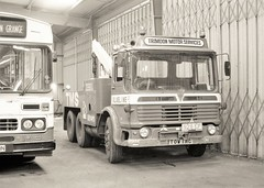 TMS recovery (Lost-Albion) Tags: trimdonmotorservices aec recovery trimdongrange durham pentax 1986