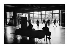 FILM - Travellers (fishyfish_arcade) Tags: 35mm analogphotography bw blackwhite blackandwhite canonsureshottelemax filmphotography filmisnotdead istillshootfilm monochrome xp2 analogcamera compact film ilford mono streetphotography
